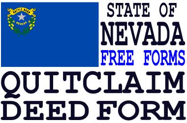Nevada Quit Claim Deed Form - Q-D-F.com - Get a free quit claim ...