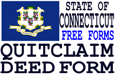 Connecticut quit claim deed form q d f get a free quit claim connecticut quit claim deed form solutioingenieria Image collections