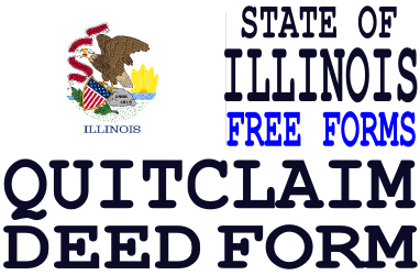 Illinois Quit Claim Deed Form