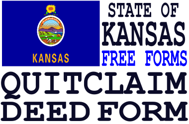 Kansas Quit Claim Deed Form