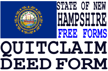 New Hampshire Quit Claim Deed Form