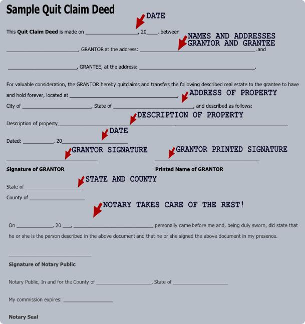 Quit Claim Deed PDF